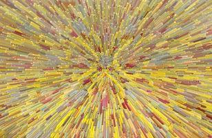 trama di sfondo astratto molto colorato con estrusione di filtro