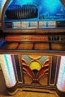 illustrazione del jukebox foto