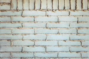muro di mattoni bianchi foto