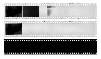 strisce di pellicola foto