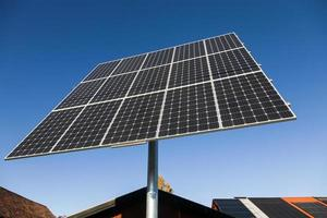 pannello solare foto