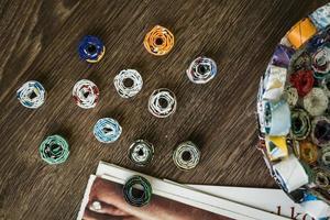 progetto fai da te dalla rivista dei rifiuti foto
