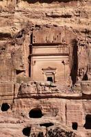 petra nabatei capitale (al khazneh), giordania
