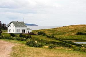 casa di fronte all'oceano foto