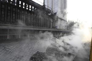 estrazione del carbone foto