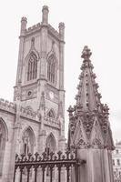 Rovine della chiesa di San Luca, Liverpool, in Inghilterra foto