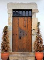 vecchia porta-sare-francia foto