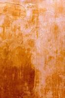 Minorca ciutadellagolden grunge ocra trama della facciata foto