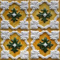 piastrelle tradizionali da porto, portogallo