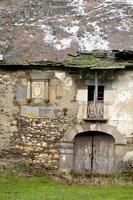 antico palazzo del xviii secolo nel periodo invernale. foto