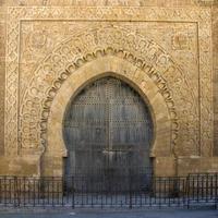vecchia porta marocchina foto