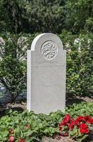 militairy cementry in olanda foto