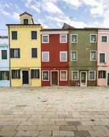 case colorate - burano, italia