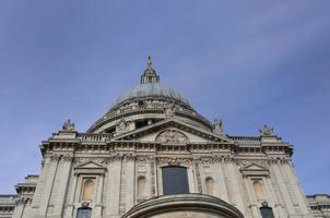 facciata della cattedrale di st pauls foto