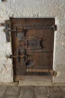 venezia - porta chiusa di presione medievale foto