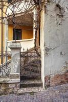 oltrepo borgo antico, particolare. immagine a colori