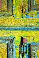 lanzarote legno astratto nei colori foto