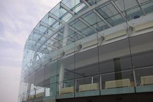 facciata in vetro foto