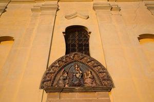 rilievo della facciata foto