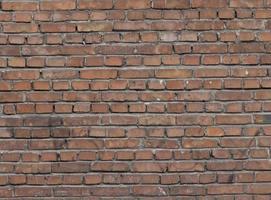 muratura del muro di mattoni foto