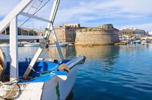 vista panoramica di gallipoli. puglia. Italia.