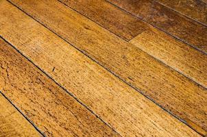 vecchia struttura del pavimento in legno foto