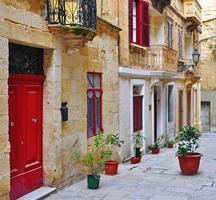 patio mediterraneo foto