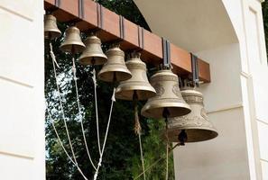 campane della chiesa foto