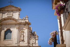 chiesa di santa maria della provvidenza, lecce, italia foto