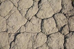superficie della roccia con crepe un'illustrazione irregolare di texture di sfondo foto