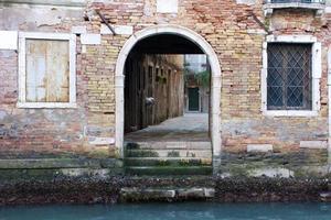 calle di venezia foto