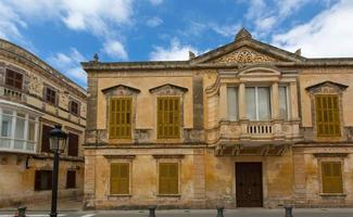 centro storico di ciutadella menorca a ciudadela foto
