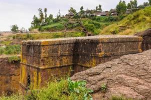 lalibela, etiopia, africa foto
