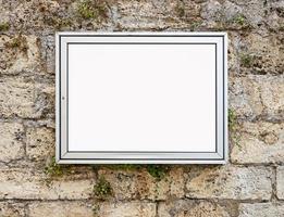 visualizzazione della finestra vuota foto