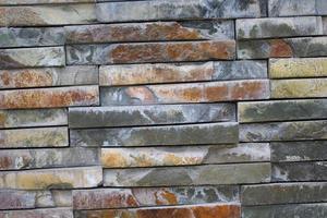 muro di pietra foto