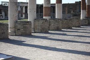 Foro Romano di Pompei foto