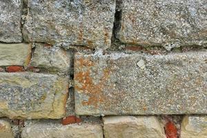 vecchio muro in pietra