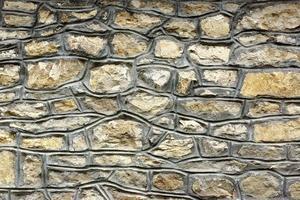 vecchio muro in pietra foto