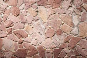 sfondo muro di pietra foto