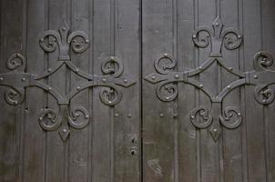 antico cancello impostato uno foto