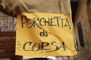 cartello turistico italiano foto