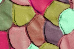 fondo decorativo in gesso ondulato colorato, xxxl foto