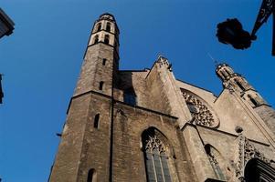 iglesia de santa maria del mar, barcellona foto