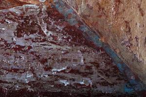 struttura di legno con vernice e vernice foto