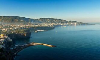 bellissima spiaggia a sorrento italia