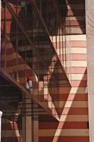 abstracto con sombras y reflejos