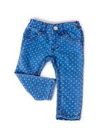blue jeans in un bel pisello