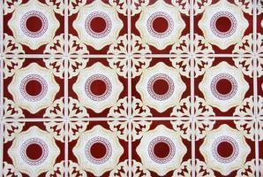 dettaglio delle piastrelle portoghesi. foto