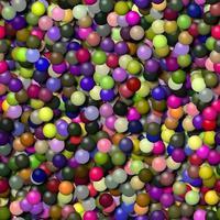 palline senza soluzione di continuità generato assunzioni trama foto