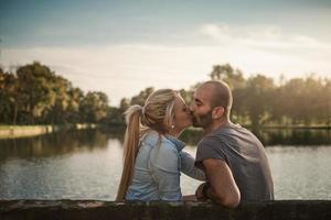 coppia nel parco